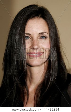 October 13, 2006. Courteney Cox Arquette attends the Los Angeles Premiere of