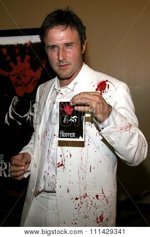 10/13/2006 - Hollywood - David Arquette attends the Los Angeles Premiere of