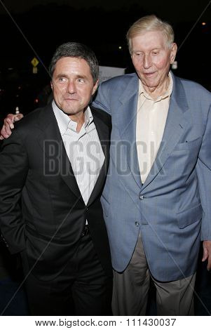 September 13, 2006. Brad Grey and Sumner Redstone attends the Los Angeles Premiere of