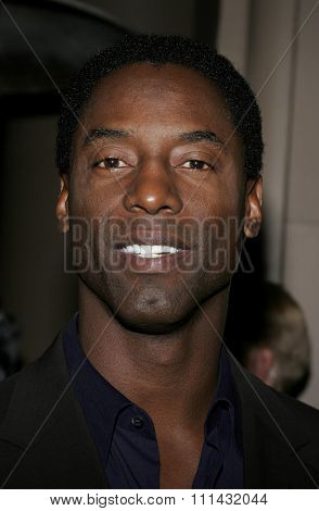 11/21/2005 - Beverly Hills - Isaiah Washington at the Los Angeles Free Clinic's 29th Annual Dinner Gala at the Regent Beverly Wilshire in Beverly Hills, CA, USA.