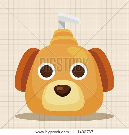 Pet Shampoo Theme Elements
