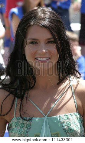 HOLLYWOOD, CALIFORNIA - June 19 2005. Danica Patrick attends at the