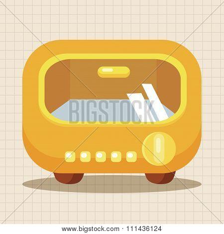 Home Appliances Theme Oven Elements