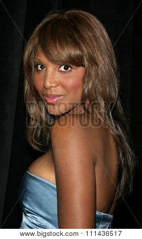 May 19, 2005. Grammy Award-winning recording artist Toni Braxton attends at the Triumph of the Spirit Awards Gala at the Beverly Hilton Hotel in Beverly Hills.