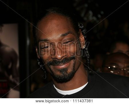 November 3, 2005 - Hollywood - Snoop Dogg at the Paramount Pictures'