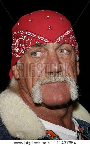 HOLLYWOOD, CALIFORNIA. November 2, 2005. Hulk Hogan at the Paramount Pictures'
