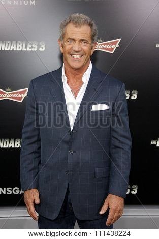 Mel Gibson at the Los Angeles premiere of