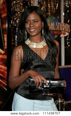 October 17, 2005. Tangi Miller at the Los Angeles Premiere of