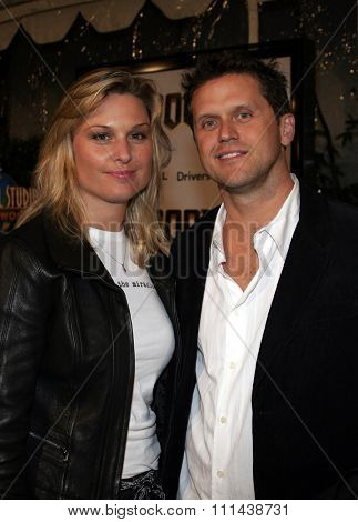 October 17, 2005. Kelly Perdew and girlfriend at the Los Angeles Premiere of