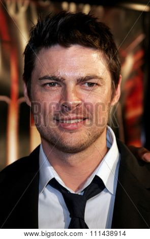 October 17, 2005. Karl Urban at the Los Angeles Premiere of