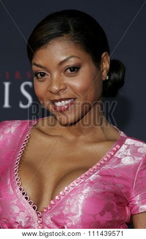 12/04/2005 - Hollywood - Taraji Henson attends the