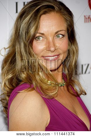Theresa Russell at the
