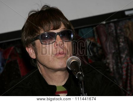 Elliot Easton attends The New Cars Press Conference held at the House of Blues Sunset Strip in West Hollywood, California on March 14, 2006.