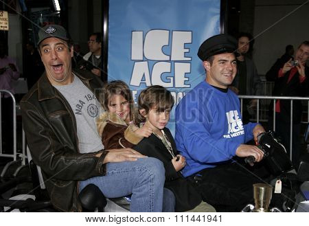 HOLLYWOOD, CALIFORNIA. March 19, 2006. Brad Garrett attends the World Premiere of