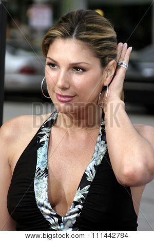 Daisy Fuentes at the