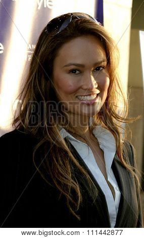 17 June 2004 - Hollywood, Califronia - Tia Carrere. Opening Night of the 2004 Los Angeles Film Festival and the Los Angeles Premiere of 'Garden State'  at the Arclight Cinema in Hollywood.