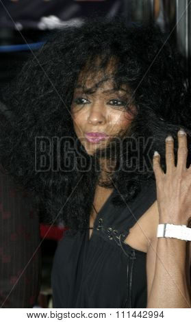 2 August 2004 - Los Angeles, California - Diana Ross. The World Premiere of 'Collateral' at the Orpheum Theatre in downtown Los Angeles.