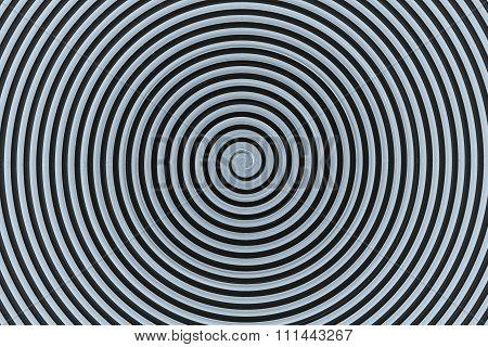 Abstract Gray Spiral