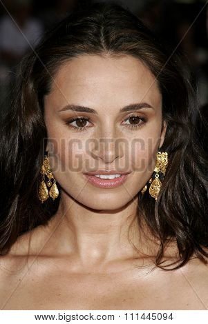 HOLLYWOOD, CALIFORNIA. May 10, 2006. Mia Maestro at the Los Angeles Premiere of
