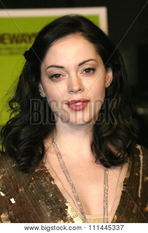 Rose McGowan at the