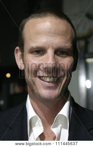 6 October 2004 - Hollywood, California - Director-screenwriter Peter Berg. The world premiere of 'Friday Night Lights' at Grauman's Chinese Theater in Hollywood.