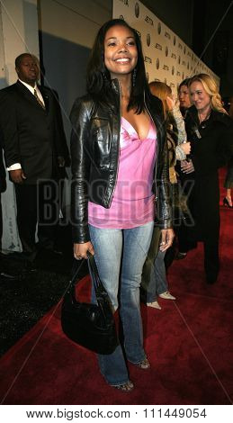 Gabrielle Union at The Exonerated Los Angeles Premiere held at Directors Guild of America in Hollywood, California, United States on January 13, 2005.