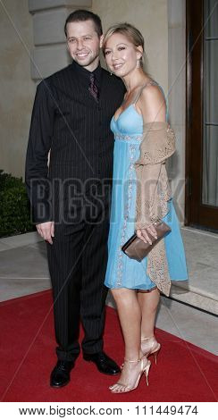 06/10/2006 - Bel Air - Jon Cryer and Lisa Joyner at the Chrysalis' 5th Annual Butterfly Ball  held at Italian Villa Carla and Fred Sands in Bel Air, California, United States.