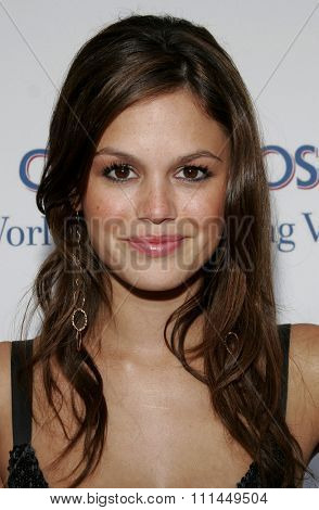 06/10/2006 - Bel Air - Rachel Bilson at the Chrysalis' 5th Annual Butterfly Ball  held at Italian Villa Carla and Fred Sands in Bel Air, California, United States.