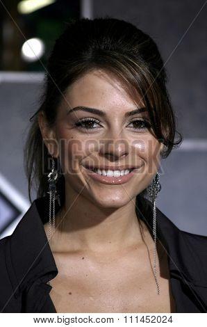 03/01/2005 - Hollywood - Maria Menounos at