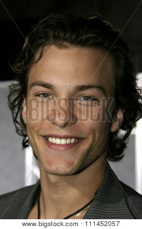 03/01/2005 - Hollywood - Kyle Schmid at