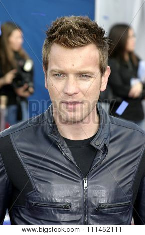 03/06/2005 - Westwood - Ewan McGregor at the