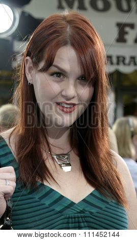 Sara Rue at the Los Angeles premiere of