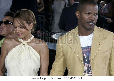 Jamie Foxx at the Los Angeles premiere of