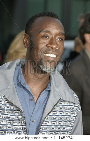Don Cheadle at the Los Angeles premiere of