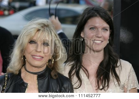 Nancy Sinatra and daughter AJ at the Los Angeles premiere of