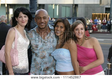 Montel Williams at the Los Angeles premiere of