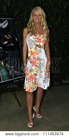 19 August 2004 - Hollywood, California - Katie Lohmann. Pelle Pelle's Celebrity Catwalk for charity hosted by Nicole Richie at the Palladium in Hollywood.
