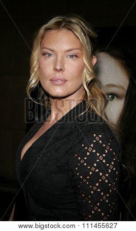 HOLLYWOOD, CALIFORNIA. April 20, 2006. Deborah Kara Unger attends the World Premiere of