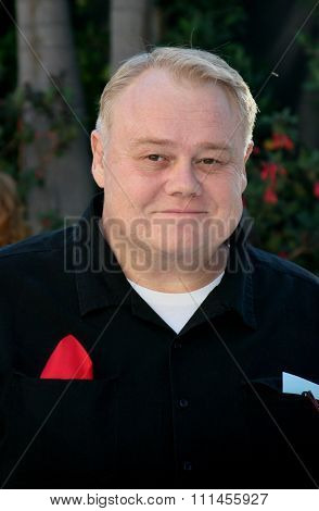 October 5, 2005. Louie Anderson. Friends of the late Rodney Dangerfield gather together to commemorate the one-year anniversary of his passing at the home of Joan Dangerfield in Hollywood.