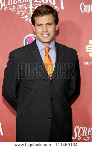 Casper Van Dien at the 2007 Spike TV's Scream Fest held at the Greek Theater in Hollywood on October 19, 2007.