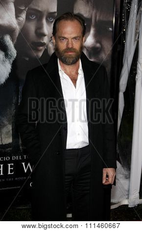 February 9, 2010. Hugo Weaving at the Los Angeles premiere of