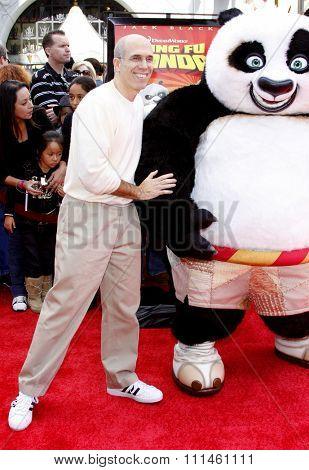 Jeffrey Katzenberg at the Los Angeles Premiere of