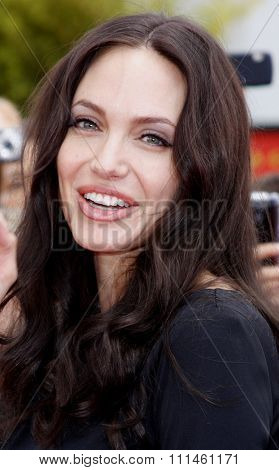 Angelina Jolie at the Los Angeles Premiere of