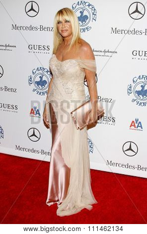 October 25, 2008. Suzanne Sommers at the 30th Anniversary Carousel Of Hope Ball held at the Beverly Hilton Hotel, Beverly Hills.