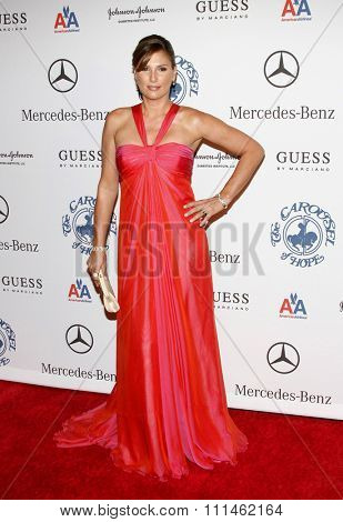October 25, 2008. Daisy Fuentes at the 30th Anniversary Carousel Of Hope Ball held at the Beverly Hilton Hotel, Beverly Hills.