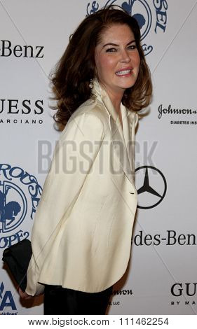 October 25, 2008. Lara Flynn Boyle at the 30th Anniversary Carousel Of Hope Ball held at the Beverly Hilton Hotel, Beverly Hills.