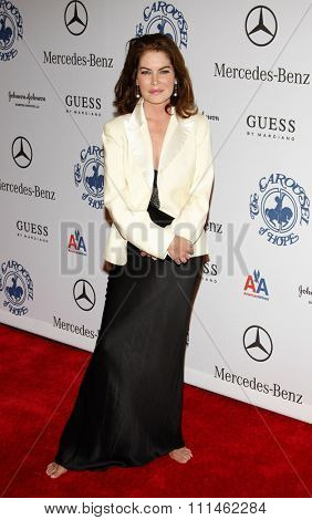 Lara Flynn Boyle at the 30th Carousel of Hope Ball held at the Beverly Hilton Hotel in Beverly Hills, California, United States on October 25, 2008.