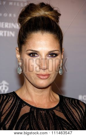 Daisy Fuentes at the Rodeo Drive Walk Of Style honors Catherine Martin held at the Greystone Mansion in Los Angeles, United States, 02/28/2014.