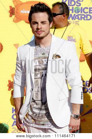 Casper Smart at the Nickelodeon's 28th Annual Kids' Choice Awards held at the Forum in Inglewood, USA on March 28, 2015.