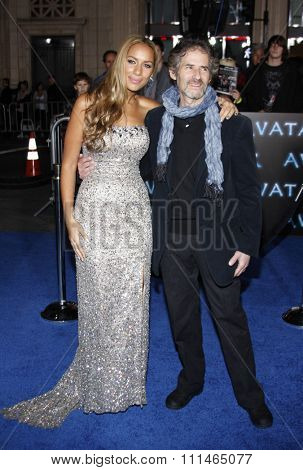 James Horner and Leona Lewis at the Los Angeles premiere of 'Avatar' held at the Grauman's Chinese Theater in Hollywood on December 16, 2009.